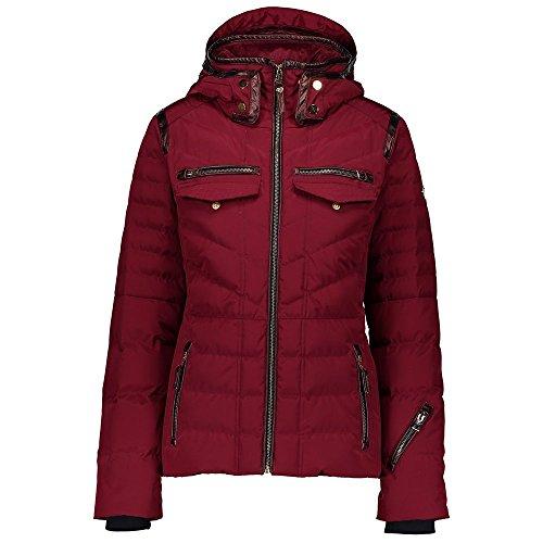 - Obermeyer Women's Devon Down Jacket Major Red 6