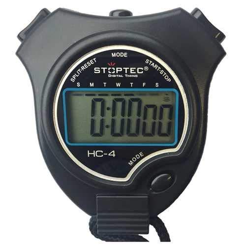 Schütt Stoptec HC-4 Digitale stopwatch met groot display, hobby | sport | vrije tijd | spatwaterdicht | geschikt voor…