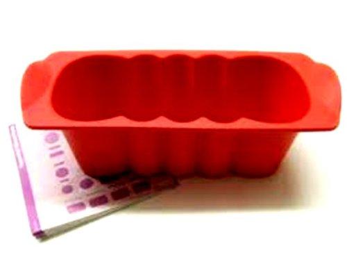 1 A Tupper molde silicona pequeñas Buzón onda 0,5L - -- rojo ...