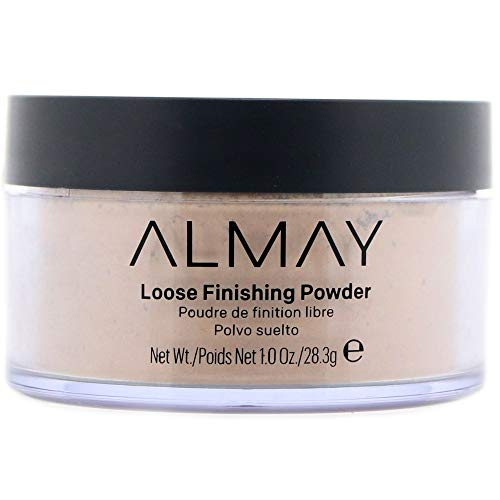 Almay Loose Powder - Almay Smart Shade Loose Finishing Powder, Light [100] 1 oz (Pack of 2)