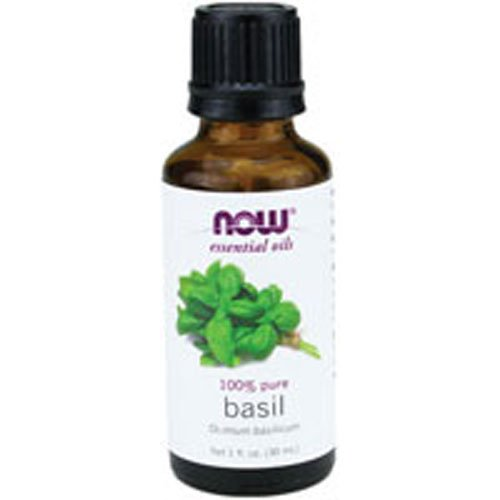 NOW Foods - Basil Oil 1 Oz (Pack of 2) by Now Foods