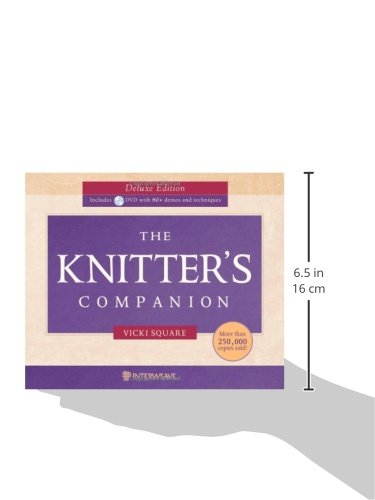 The Knitter's Companion Deluxe Edition w/DVD by Interweave Press (Image #1)