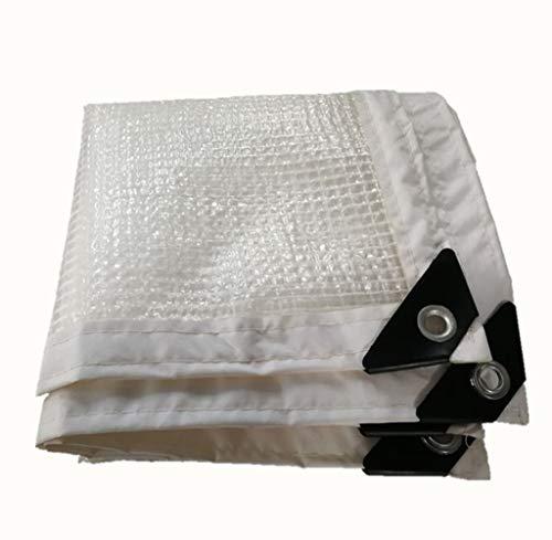 コールド扱う不倫JIANFEI オーニング 防水耐寒性アンチエイジング耐久性のある長寿命、PE 19サイズのカスタマイズ可能 (色 : 白, サイズ さいず : 2x6m)