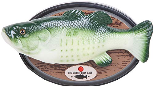 (Big Mouth Billy Bass - Compatible with Alexa)