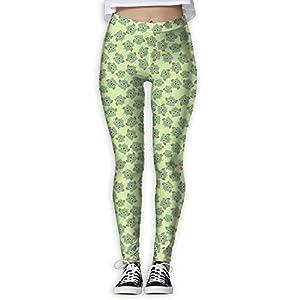 HJUCXSRT New Cartoon Owl Printing Design Compression Leggings Pants Tights For Women S-XL
