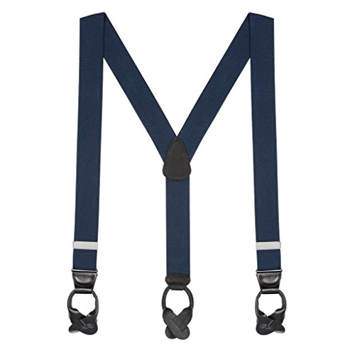 Suspender Store Mens Big & Tall Button-End Suspenders - 60 Inch - Stores Men Big