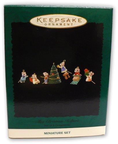 Amazon.com: Hallmark MINIATURE Keepsake Ornament - set of 6 -