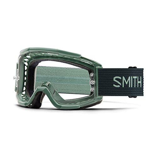 Smith Optics Squad VTT Deep Forest Split–Clear Single