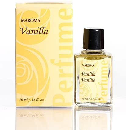 Maroma Fragrance, Vanilla, .34 Fluid Ounce