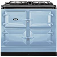 AGA ADC3G Dual Control 39 Inch Wide 4.26 Cu. Ft. Slide In Dual Fuel Range with S, Duck Egg Blue