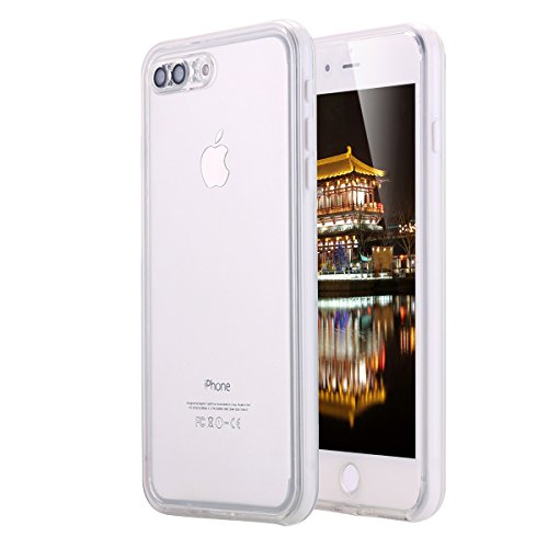 buy online bb223 22c93 Details about iPhone 8 Plus /iPhone 7 Plus Waterproof Case, LONTECT Crystal  Clear Ultra Sli...