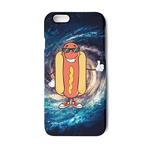 Hot Dog Clipart Bad Food iPhone 6/6s/6plus/6s Plus/7/7 Plus/8/8 Plus Case Shock Proof/Anti-Finger/Anti-Scratch/Double Coverage/Max Protection iPhone Case