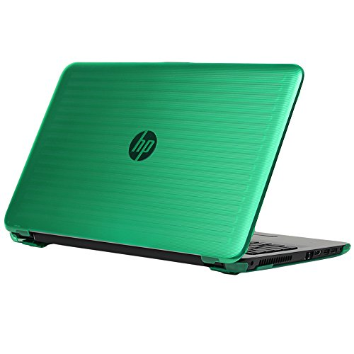 iPearl mCover Hard Shell Case for 15.6 HP 15-ayXXX (15-ay000 to15-ay099) Series/HP 15-baXXX Series (NOT Fitting 15 Pavilion or Envy laptops) Notebook PC (Green)