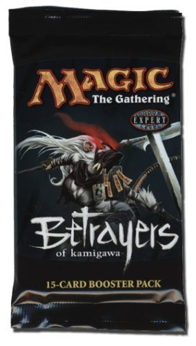 Magic the Gathering MTG Betrayers of Kamigawa Booster Pack (15 Cards/Pack) Out of Print by Magic: the Gathering