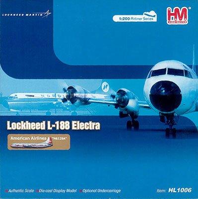 ホビーマスター 1/200 L-188エレクトラ/アメリカン航空 完成品 B00372ASE6