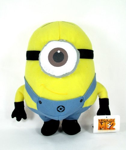 "Despicable Me 2- 2 Piece Minion 10"" Plush Set - Includes Dave and Stuart"