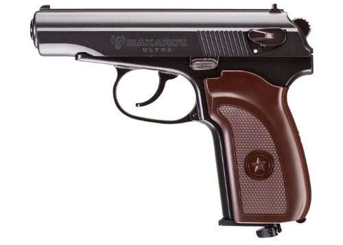 Umarex Legends 2251811 BB 16 Rounds 350fps Air Pistol, 0.177 Caliber, Brown