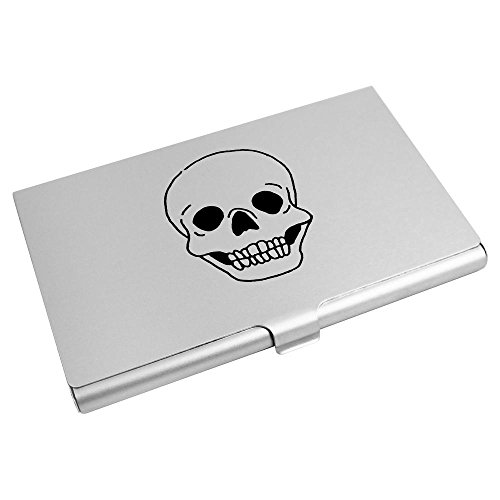 Holder Card Wallet Azeeda Credit Skull' Business CH00013504 Card 'Grinning qpwwvHZ