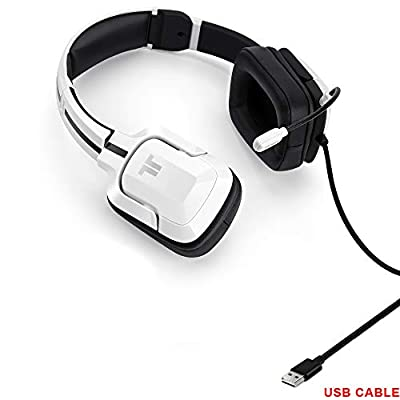 TRITTON Gaming Headset with Microphone for PC Computer, and Compatible for PC, Mac, Laptop, PS4,