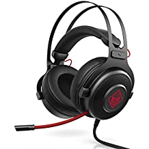 HP 1KF76AA#ABL OMEN by Wired Gaming Headset 800 (Black/Red)