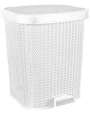El Helal & El Negma Turt Medium Trash Bin - White