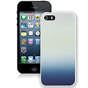 Unique Designed Cover Case For iPhone 5S With Blue Ky Gradation Blur Wallpaper (2) Phone Case Kimberly Kurzendoerfer