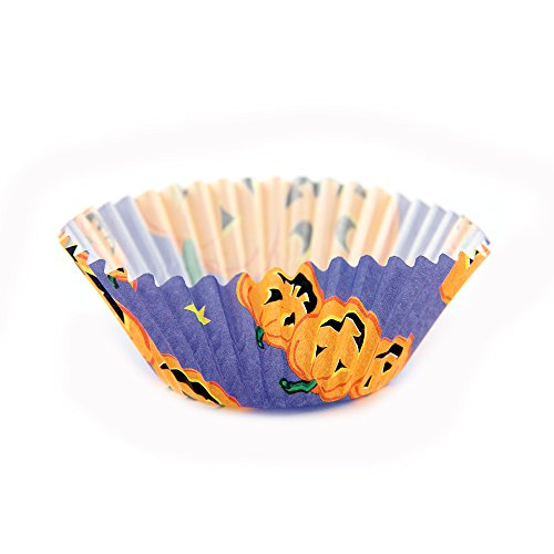Arant Halloween Pumpkin Mini Cupcake Liners. Colorful Paper, Ideal for Holidays and Parties, 100 Pack.]()