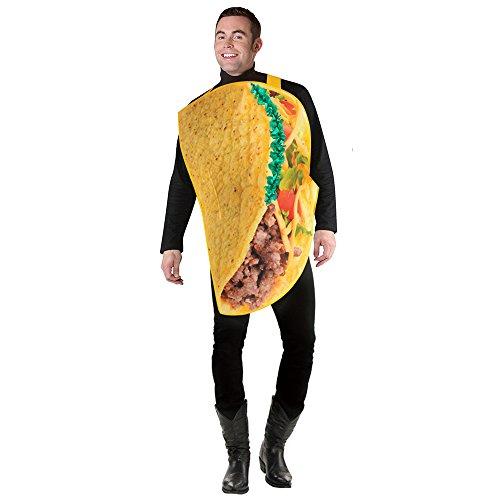 SP Funworld Taco Costume Adult Men's Lightweight Taco Funny Halloween Costume -