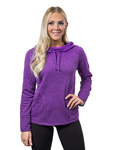 Alex+Abby Plus-Size Chill Chaser Hoodie XXX-Large Plum Purple Heather