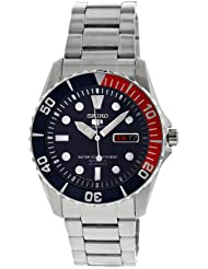 Seiko Mens SNZF15J1 Dark Blue Dial Watch