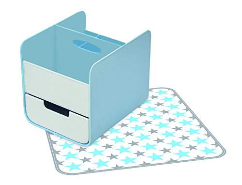 b.box Diaper Caddy - Blue Lagoon by Bbox