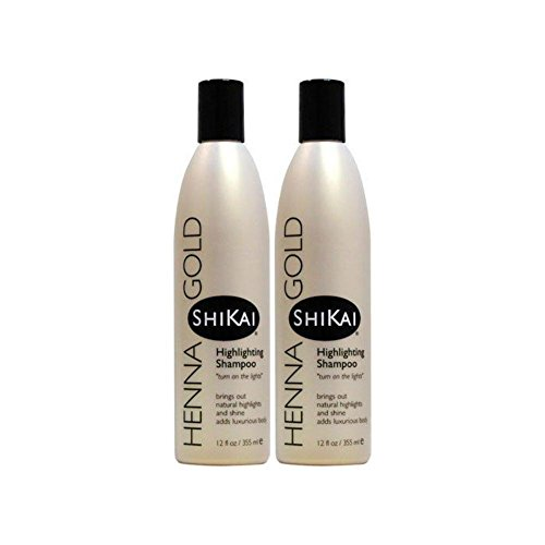 ShiKai Henna Gold Highlighting Shampoo 12 fl oz Liquid (Pack of - Henna Highlight