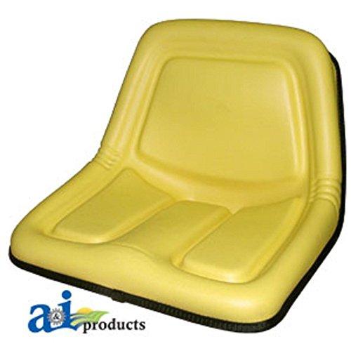 TY15863 Seat High Back Yellow Fits John - 570 Deere John Skid