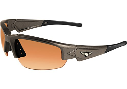 Maxx Sunglasses Rough Rider Grey #1 HD Amber Lenses - Sunglasses Golf Maxx