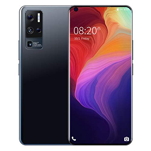 HTYQ Mobile phone, Android 10 X50Pro+ smartphone free unlocking, 7.0-inch HD screen, 12GB+512GB, 24MP+48MP triple camera…