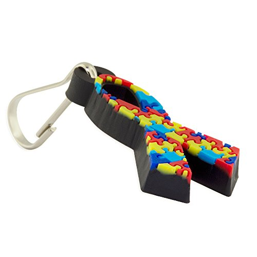Autism Awareness PVC Rubber Coat Zipper - Zipper Awareness