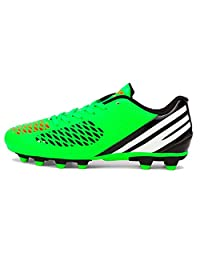 Pointss Boys Fashion Football Cleats Indoor Outdoor Ground Soccer Shoes Kids Lace-up Turf Shoes Sport Training Shoes