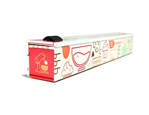 Foil Dispenser (ChicWrap Baker's Tools Parchment Paper Dispenser with 15