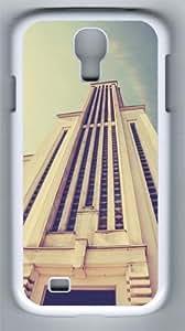 Skyscraper Architecture PC Hard Case Cover For Samsung Galaxy S4 SIV I9500 Case and Cover White