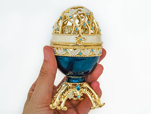 Faberge Egg with a Golden Elephant ()