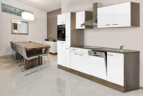 respekta Montaje Cocina Bloque de Cocina 310 cm Roble York Réplica ...