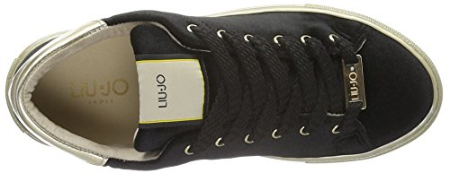 Liu Jo Women's Sneaker Cannella Trainers Black (Black) QfYMwMWc