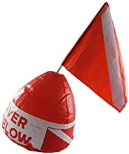 Scuba Choice Inflatable Signal Floater with Dive Flag