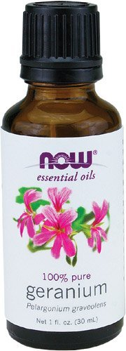 NOW Foods Essential Oils Geranium -- 1 fl oz