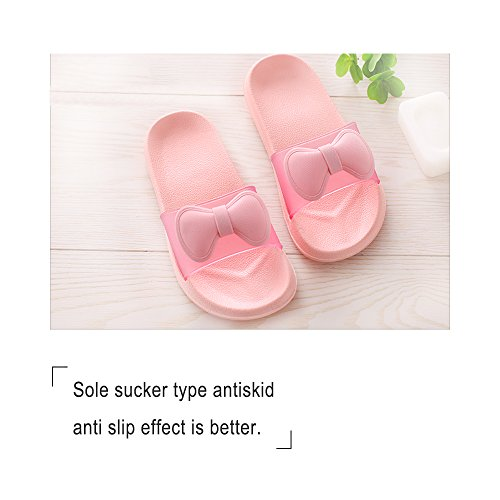 WILLIAM & KATE bunte Hausschuhe Für Frauen Im Sommer Casual Anti-Slip Hausschuhe Innenboden Slipper Sandale Bad Slipper Orange