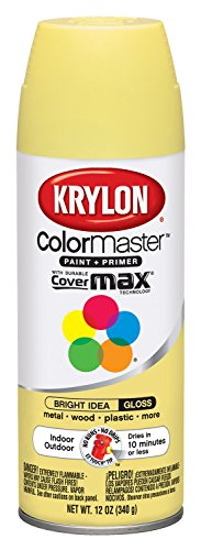 Krylon K05353802 Bright Idea Interior and Exterior Decorator Paint - 12 oz. Aerosol