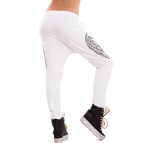 Toocool - Pantalón deportivo - para mujer blanco