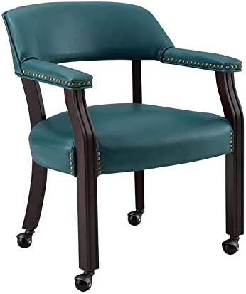BOWERY HILL Captain's Poker Game Arm Chair