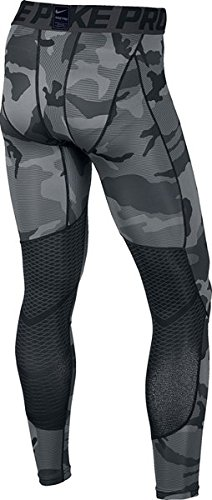 daefdd725a422 Nike Mens Pro Hypercool CAMO Print Tights Black/Anthracite/White Large