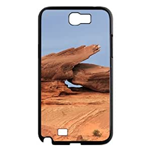 YCHZH Phone case Of Gobi landscape Cover Case For Samsung Galaxy Note 2 N7100